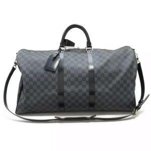 Louis Vuitton Bags - LOUIS VUITTON Keepall 55 Damier Graphite w bag